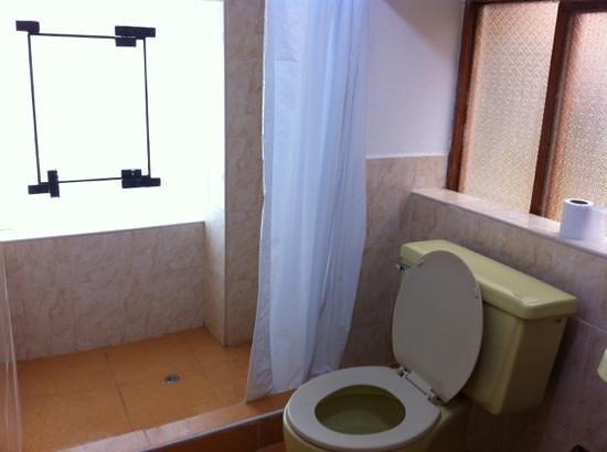 Hostal El Labrador : shower area