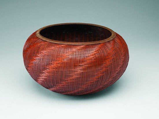 Tai Gallery / Textile Arts: Bamboo basket by Abe Motoshi