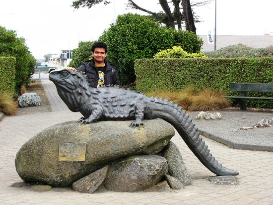 Southland Museum and Art Gallery: Tuatara model
