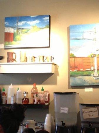 Clingman Cafe: artful Cafe