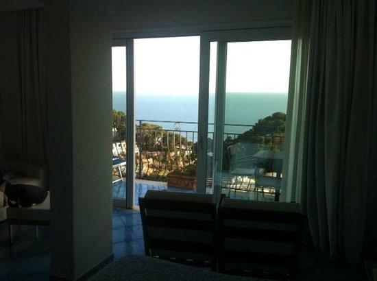 Hotel La Floridiana: Vista mare