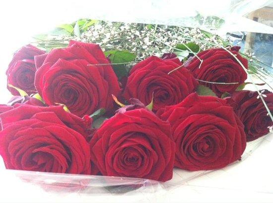 Hotel La Floridiana: Consegna Rose