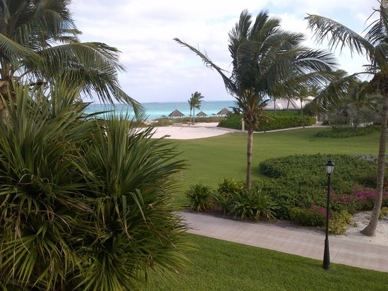 Sandals Emerald Bay Golf, Tennis and Spa Resort: view from our lanai