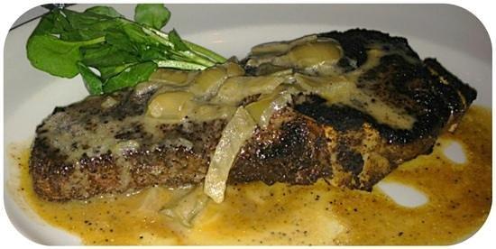 The Capital Grille: Bone-in Kona sirloin
