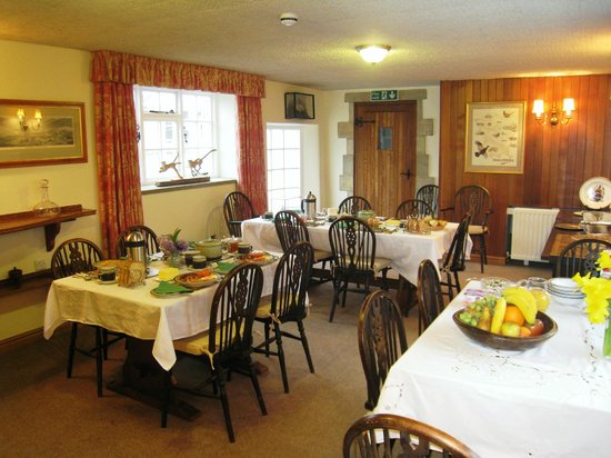 The Moorhouse: Our Large Dining Room