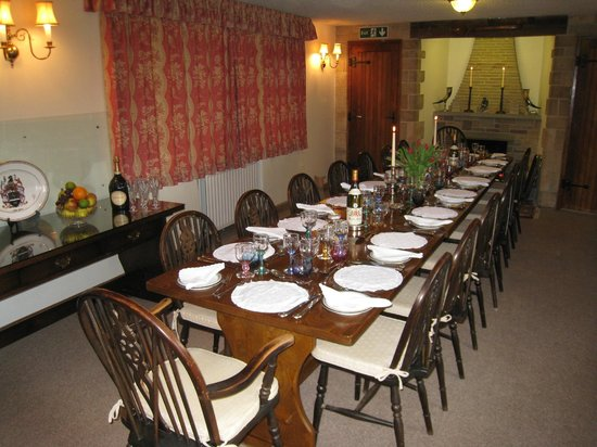 The Moorhouse: Dinners for up to 16 by Prior Arrangement