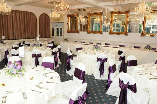 Moorland Garden Hotel: Crystal Room, weddings
