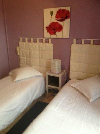 Hotel Relais du Lac : chambre 2 lits
