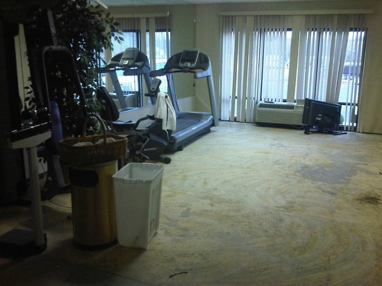 Hampton Inn Wilkesboro: state of the art exercise room