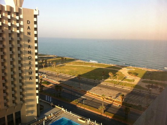 InterContinental David Tel Aviv: View from my room on 16th floor (1625)