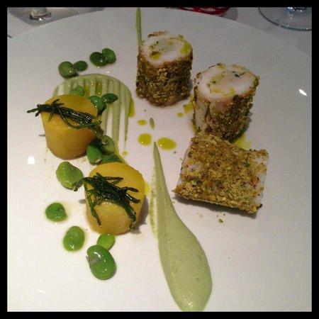Restaurant L'Oggi - Hotel chez Charles: La Sole et la Pistache...