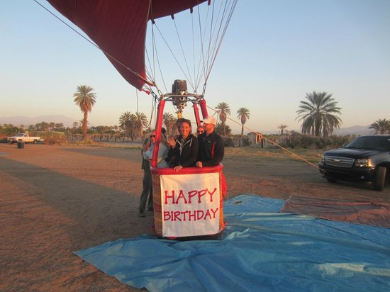 Havnfun Hot Air Ballooning : HAPPY BIRTHDAY TO OUR DAUGHTER IN LAW MICHELLE