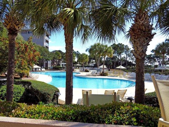 Marriott's Grande Ocean : One of many pools