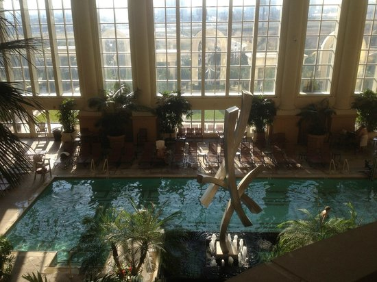 Pool spa area picture of borgata hotel casino spa for Pool and spa show atlantic city nj