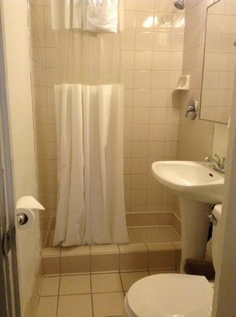 The Milner Hotel Downtown Los Angeles: bathroom