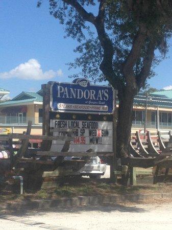 Pandora's of Grayton Beach: Pandora's