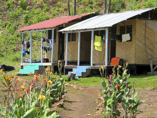 Surfer Paradise Surf Camp : The other two guest cabanas. Small, but comfortable and clean.