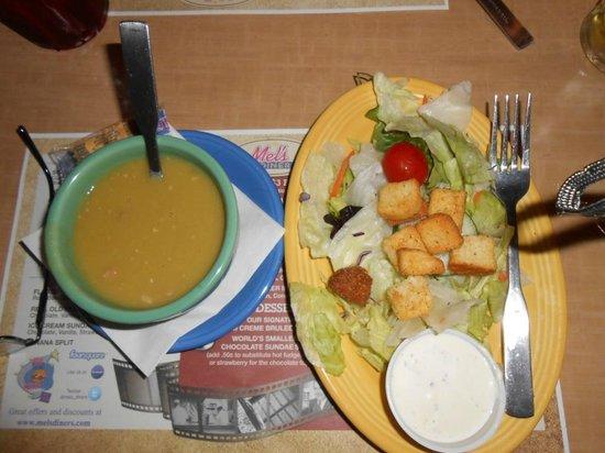 Mel's Diner : Side Soup n' Salad