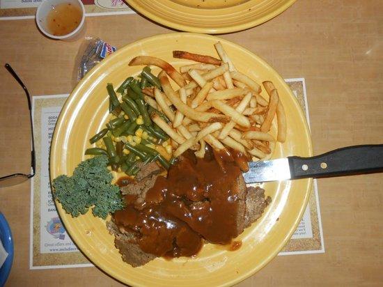 Mel's Diner: Meat loaf