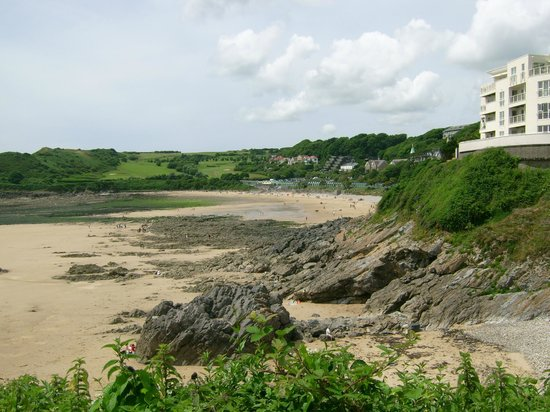 Glenview Guest House : Langland Bay, seen from Rotherslade