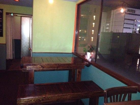 Tropical Bar Revolucion: Table by the window.