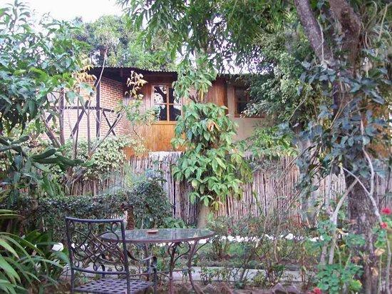 Hotel Utz Jay: In the garden