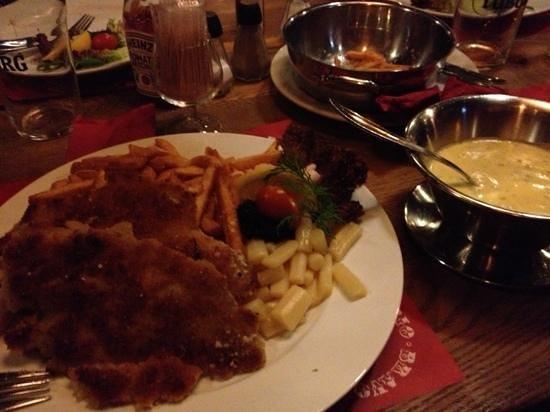 Restaurant Rio Bravo : pesce fritto nel burro