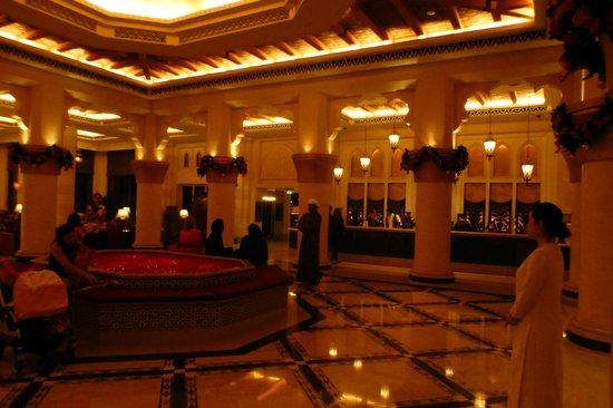 Jumeirah Mina A'Salam: De lobby....