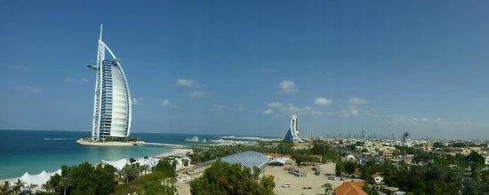 Jumeirah Mina A'Salam: uitzicht vanaf onze kamer....