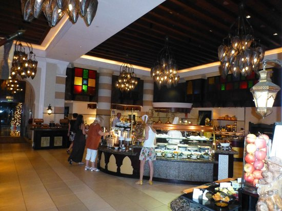 Jumeirah Mina A'Salam: buffet