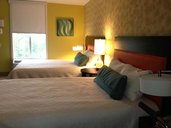 Home2 Suites Biloxi North / D'Iberville: sleeping area
