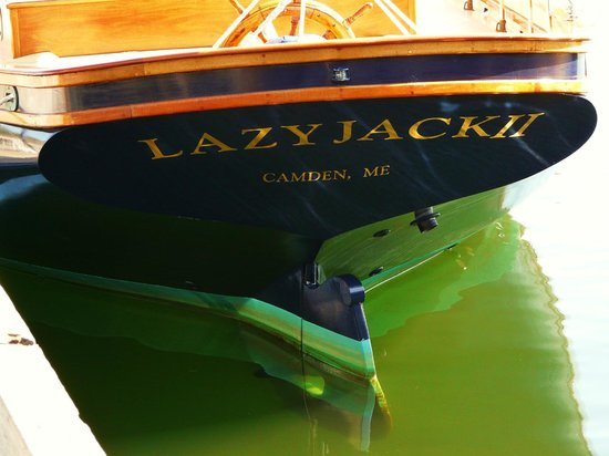 Camden, ME: Lazy Jack II Stern