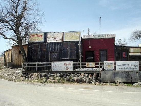 The Meers Store And Restaurant: Not much to look at, but this is it.