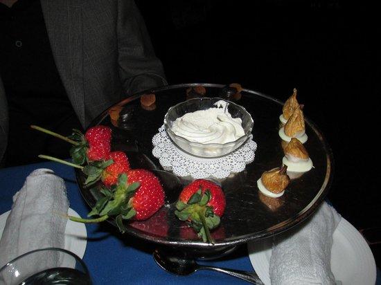 Hugo's Cellar: The Dessert Plate