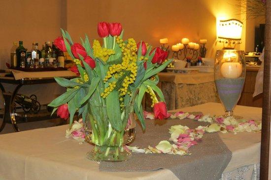 Hotel Saint Martin: sala pranzo 8 marzo