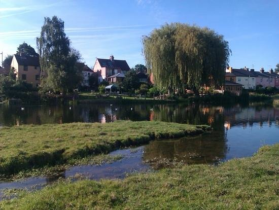 The Mill Hotel: peaceful!