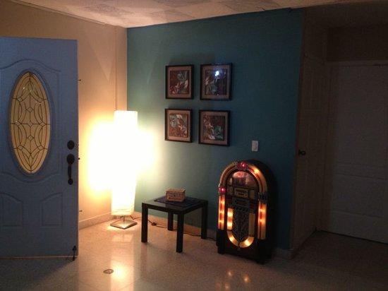 Waki House: rocola en nuestra recepción