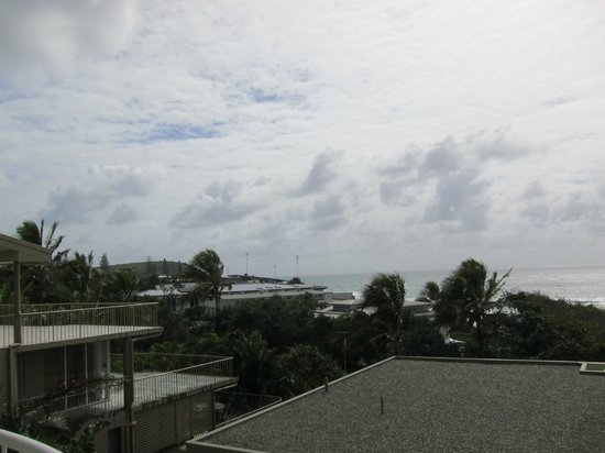 La Mer Beachfront Apartments: view from hall balcony 4