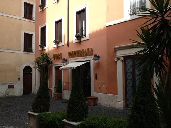 Hotel Fori Imperiali Cavalieri: A conseiller