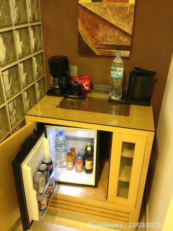 Hotel Riu Plaza Guadalajara: Minibar
