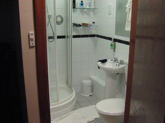 Park Lodge Hotel : vue salle de bains