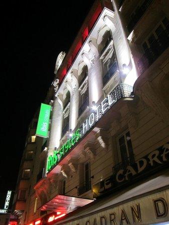 Ibis Styles Hôtel Paris Gare du Nord TGV: Das Hotel von außen