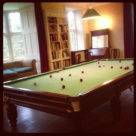 NorthCourt Manor: The Billiards Room - our favourite room.