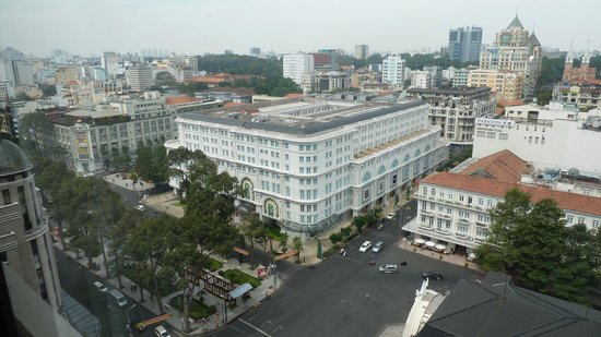 Caravelle Saigon: View from hotel room