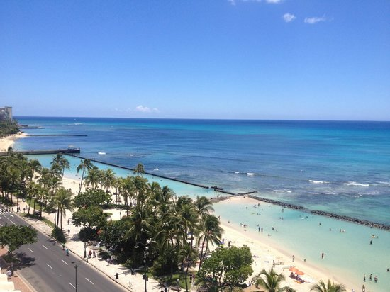 Alohilani Resort Waikiki Beach: Another view from room 3