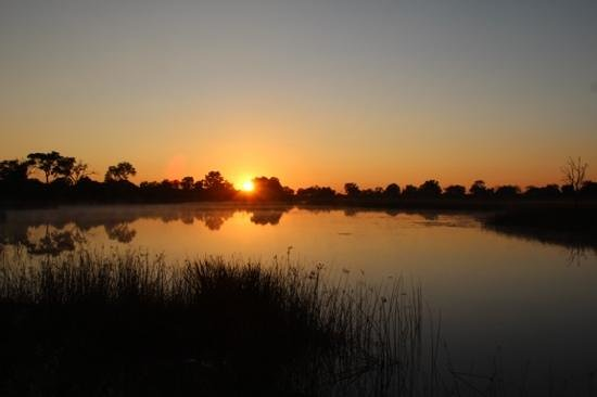 Wilderness Safaris Savuti Camp: Sunset view from our room