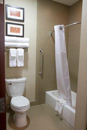 Comfort Suites Mattoon: Updated Bathrooms
