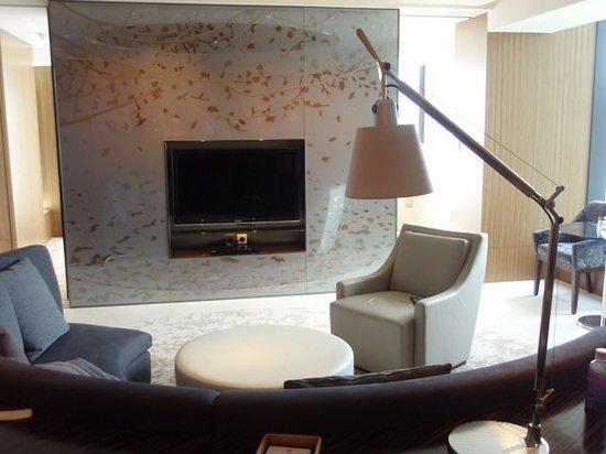 Hotel ICON: гостинная