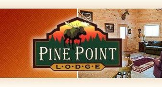 Pine Point Lodge Sign