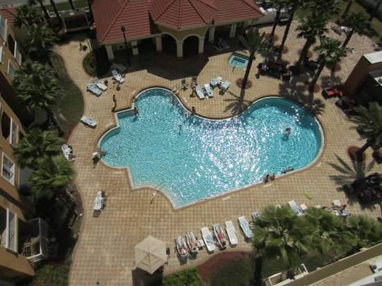The Point Hotel & Suites: Nice pool area - could use a few more chairs